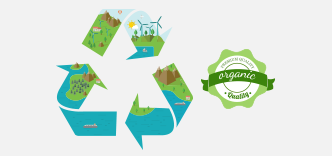 Recycling scraps, waste materials