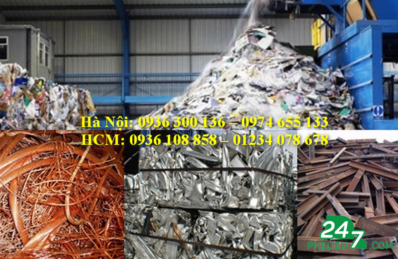 Purchasing scrap in Ho Chi Minh City