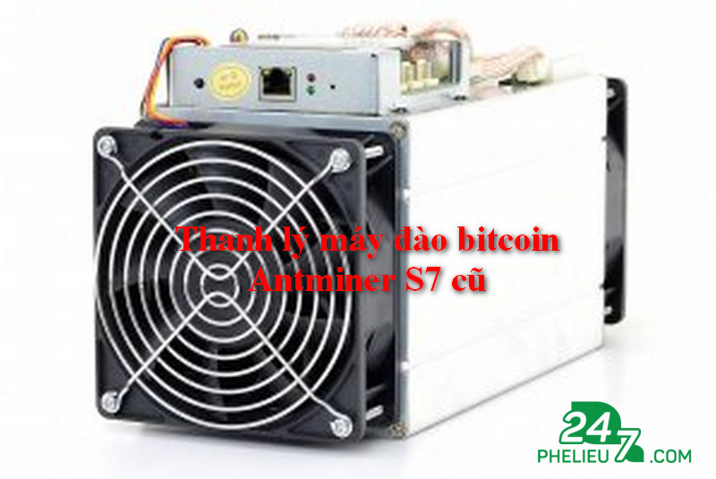 Unload old Antminer S7 bitcoin
